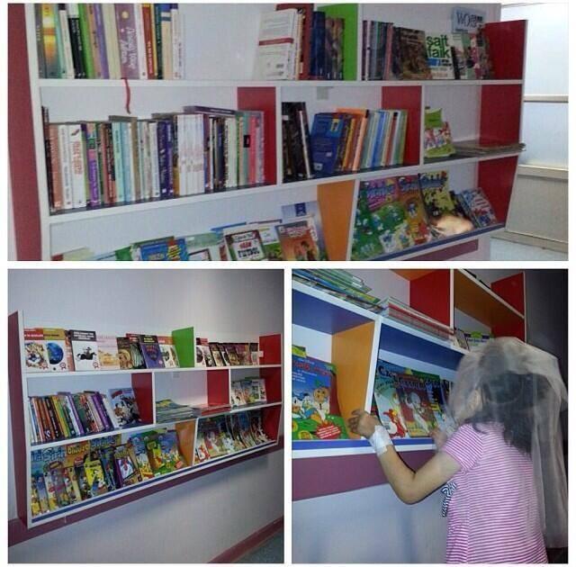 İstanbul Çapa Tıp Fakültesi Koridor kütüphanemiz
